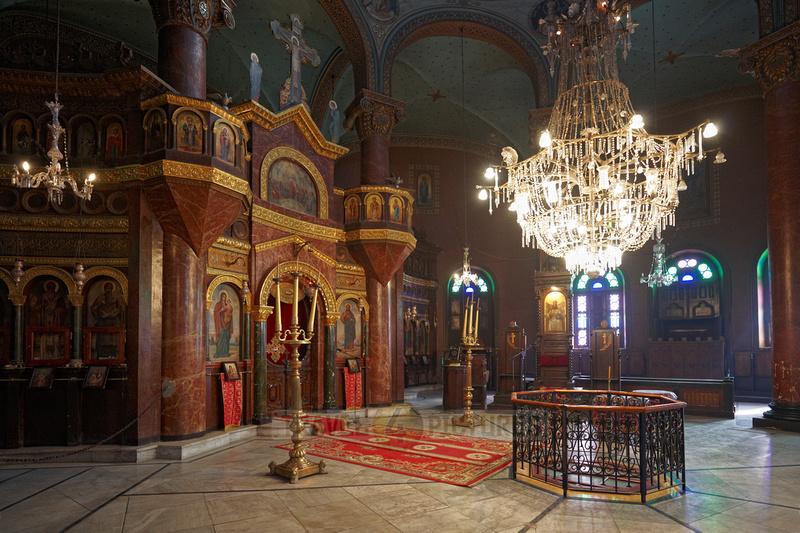 interior shot of Saint George Church