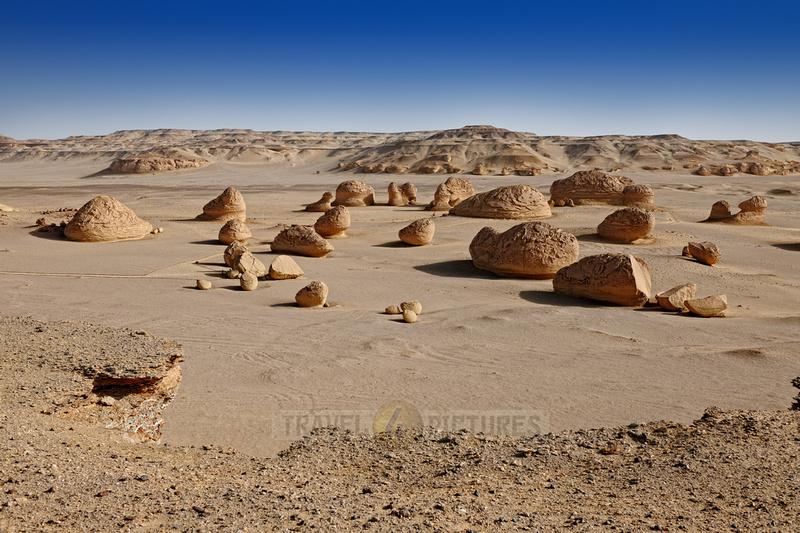 desert landscape at Wadi Hitan
