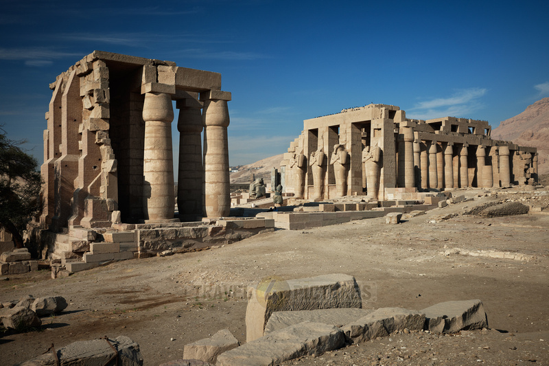 Ramesseum, temple of Ramesses II., Luxor