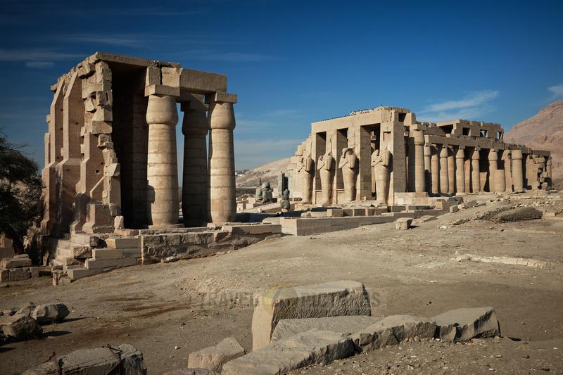 Ramesseum, temple of Ramesses II., Luxor