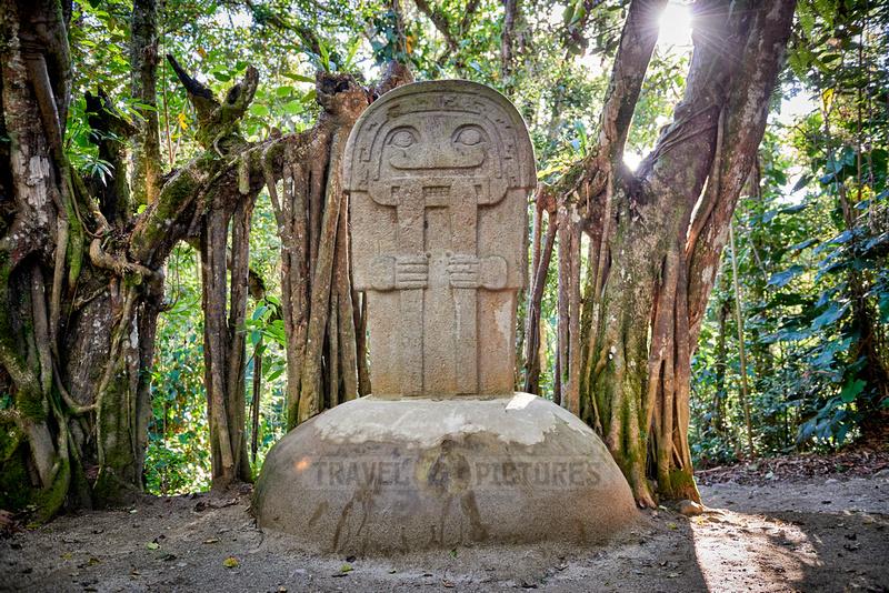 Bosque De Estatuas in Parque Arqueologico De San Agustin
