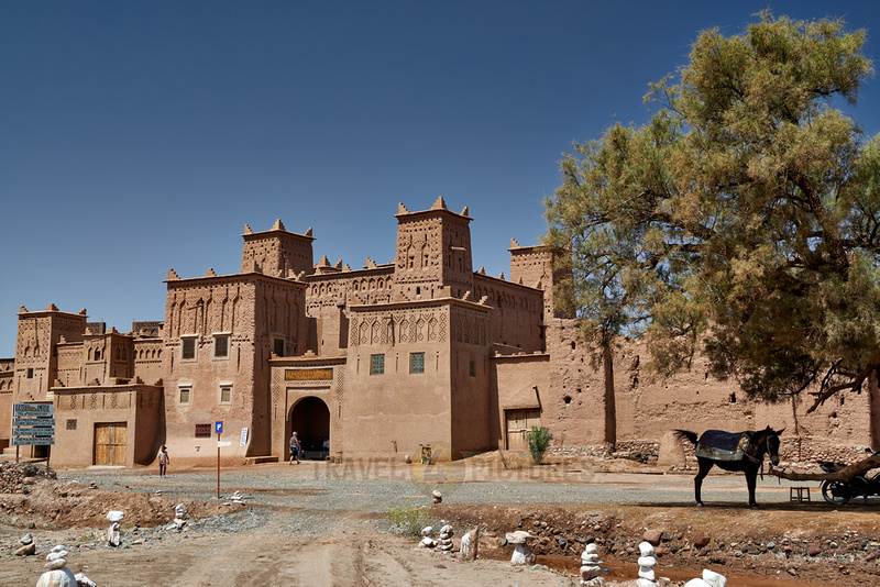 outside view of Kasbah Amridil