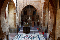 interior shot of Al Ghouriyya Mosque