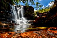 waterfalls Cano Cristales 08-2017
