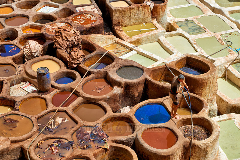 Chouwara  leather tannery in Old Fez