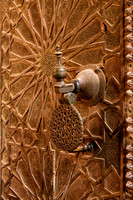 doorknocker of Bou Inania Madrasa