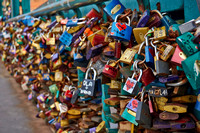 Padlocks at Tumski Bridge