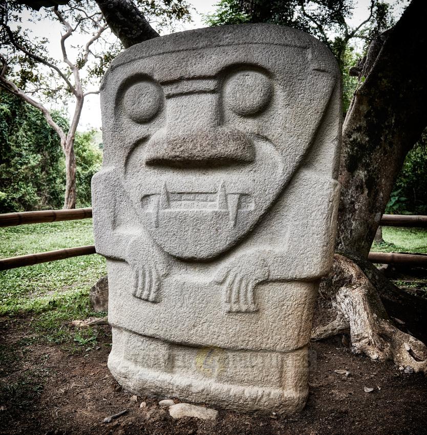 Mesita C of archaeological park Parque Arqueologico De San Agustin