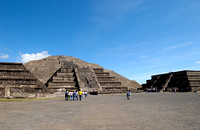 Pyramid of the Moon and Place of the moon