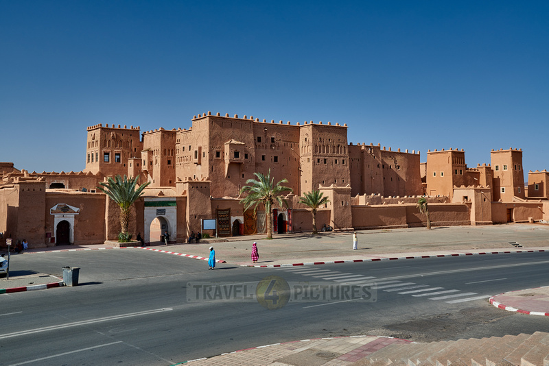 outside shot of Kasbah Taourirt