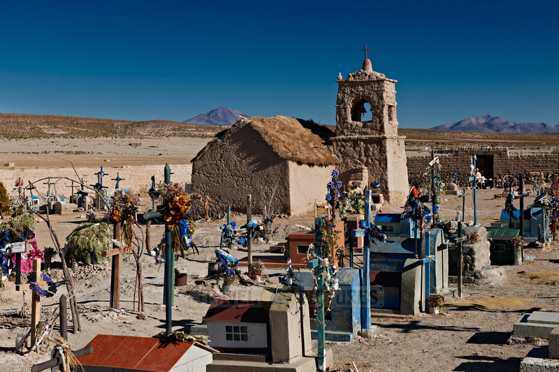 adobe church and cemetery